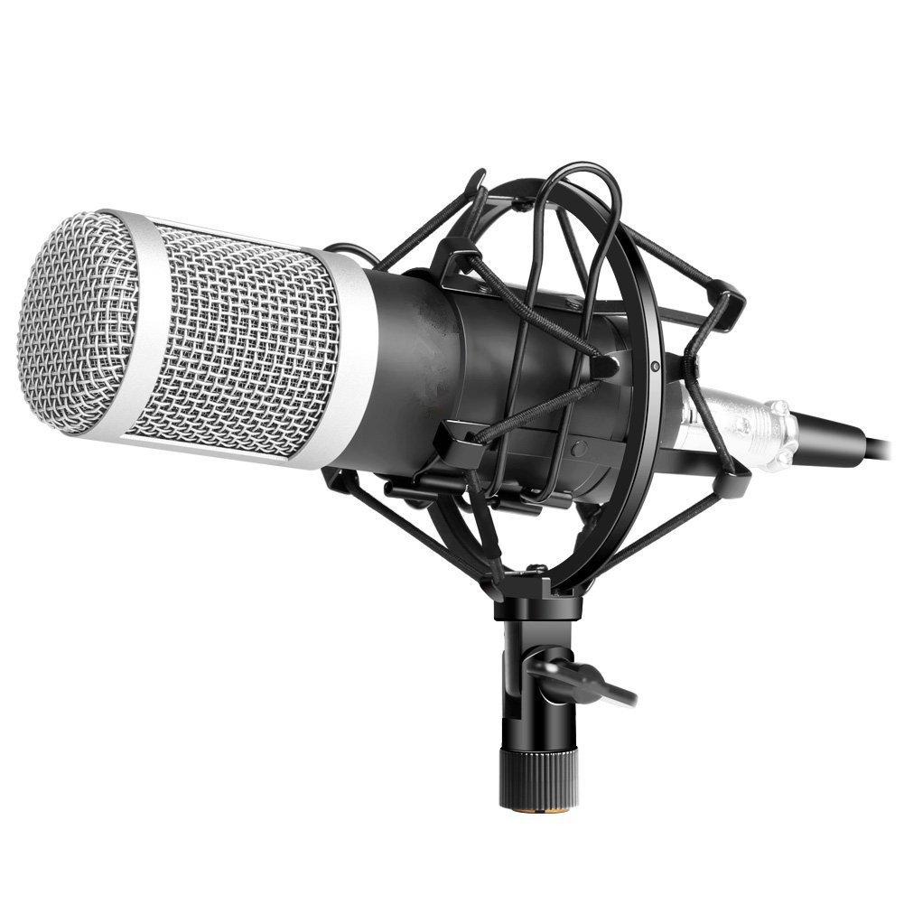 Esynic 35mm Condenser Microphone Bm800 Sound Studio Avan Av 801 Headset Headphone Electronics