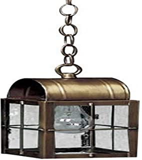 product image for Brass Traditions 132 SHDC Small Hanging Lantern 100 Series, Dark Antique Copper Finish 100 Series Hanging Lantern