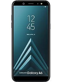 "Samsung Galaxy A6 32GB Factory Unlocked Phone - 5.6"" - Black (Renewed)"