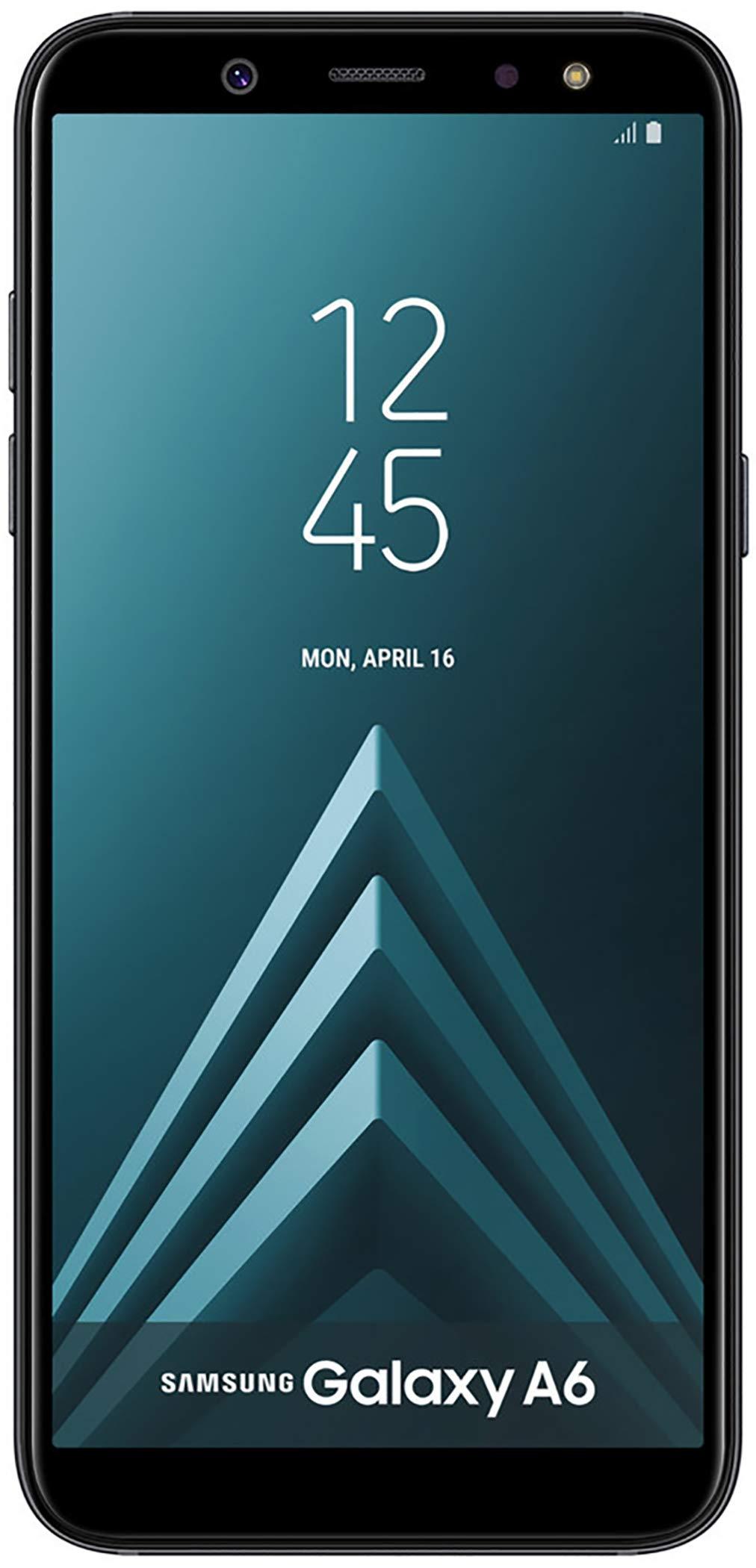 Samsung Galaxy A6 32GB Factory Unlocked Phone - 5.6'' - Black (Renewed) by Samsung