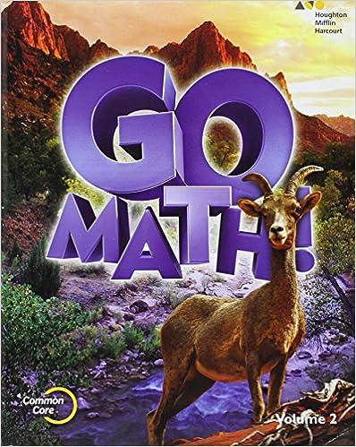 Amazon.com: Go Math!: Student Edition Volume 2 Grade 6 2015 ...