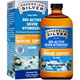 Sovereign Silver Bio-Active Silver Hydrosol for Immune Support* - 32 Fl Oz - The Ultimate Refinement of Colloidal Silver - Safe*, Pure and Effective* - Premium Silver Supplement - Family Size
