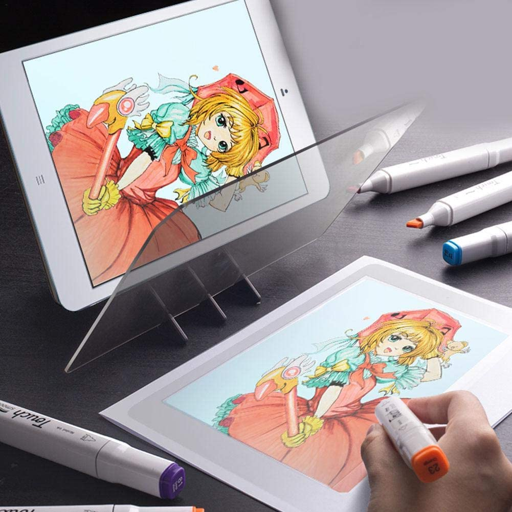 pologyase Tablero de Dibujo óptico, DIY Tablero de Dibujo, Imagen ...