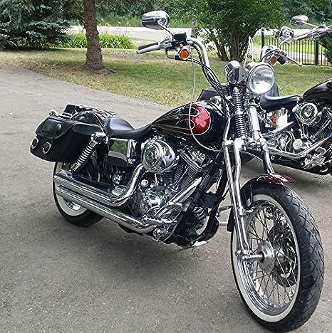Springer Front End 2 Over Black fits Harley Davidson
