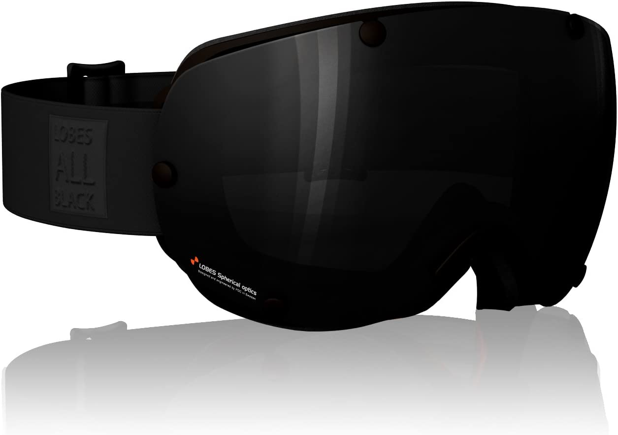 POC Lobes All Black Goggles Black, One Size