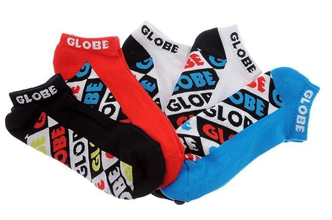 Globe Piñata Colour 5 Pack tobillo Calcetines