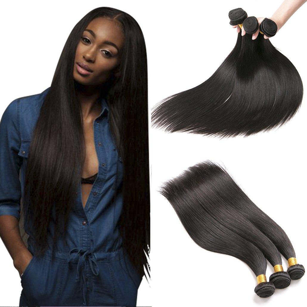 Silkylong Peruvian Hair Bundles Straight 16 18 20 Inches 1b Hair Weave 100 Human Hair Extensions Natural Weft 300g xuchang senfa