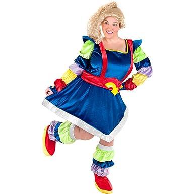 womenu0027s plus size rainblow brite halloween costume