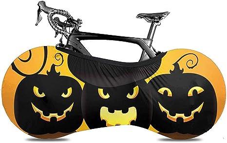 Funda para Bicicleta,Happy Halloween Cartoon Pumpkin Adaptable ...