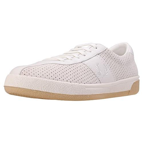 Fred Perry B1 Tennis Shoe Perf Hombres Zapatillas: Amazon.es: Zapatos y complementos