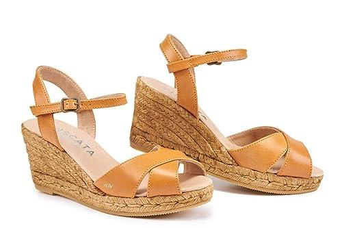 Viscata Barcelona BesaluLeather - Alpargatas Mujer: Amazon.es: Zapatos y complementos