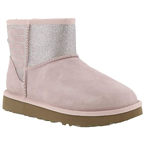 dafb2707f56 UGG Australia Womens Classic Mini Sparkle Suede Boots: Amazon.ca ...