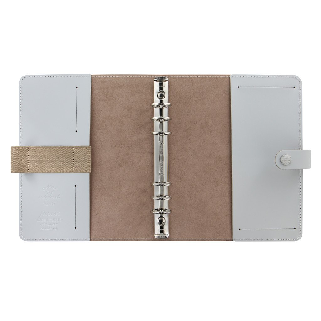 Filofax The Original Leather Organizer Agenda Calendar with DiLoro Jot Pad Refills (A5, Stone ND 026067) by Filofax (Image #4)