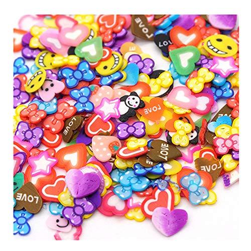 Kanzd Colorful Styrofoam Sugar Sprinkles Decorative Slime DIY Craft for Crunchy Slime (G) -
