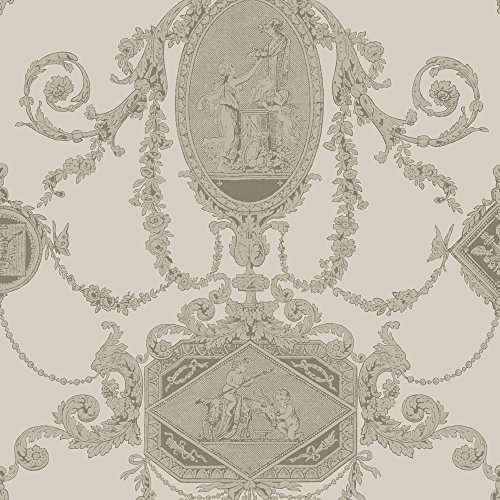 PV00204 - Regency Wall Plaques Cherubs Bronze Blendworth Wallpaper (Cherub Wallpaper)