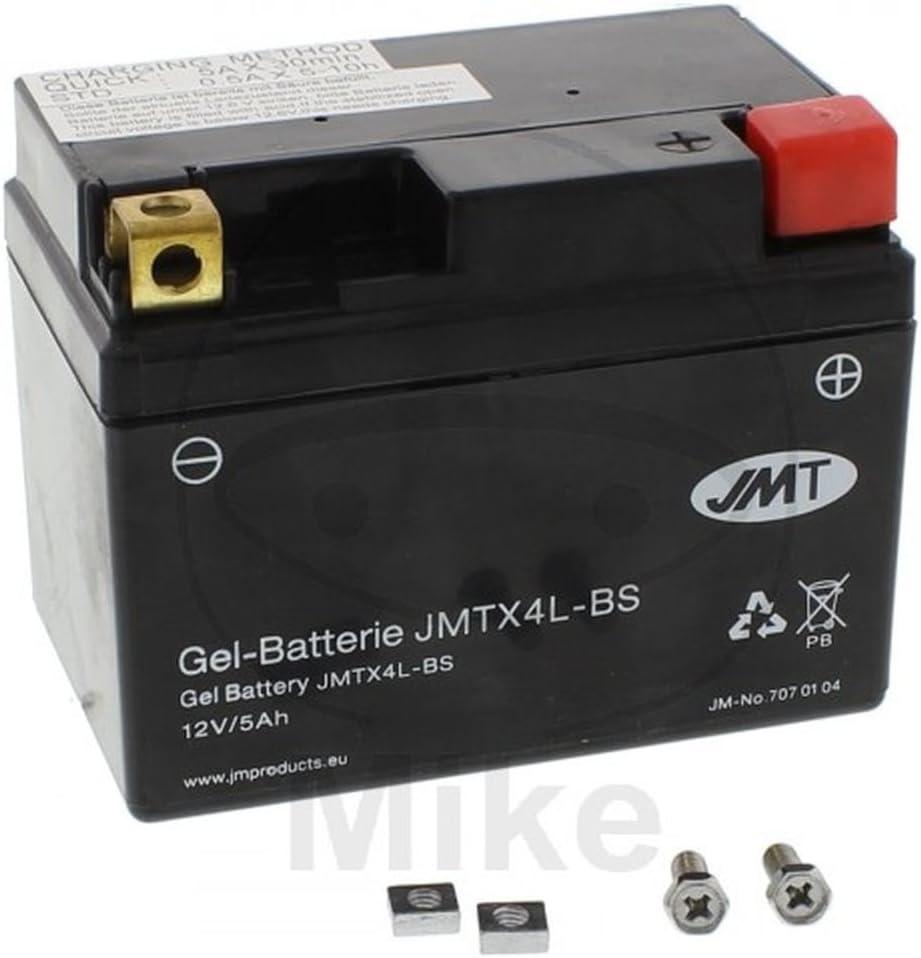 BATTERIA MOTO YTX4L-BS GEL JMT RIF YUASA 7071293 3620 6-ON 9122 707.01.04