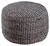 Signature Design by Ashley A1000382 Achiles Pouf, Natural