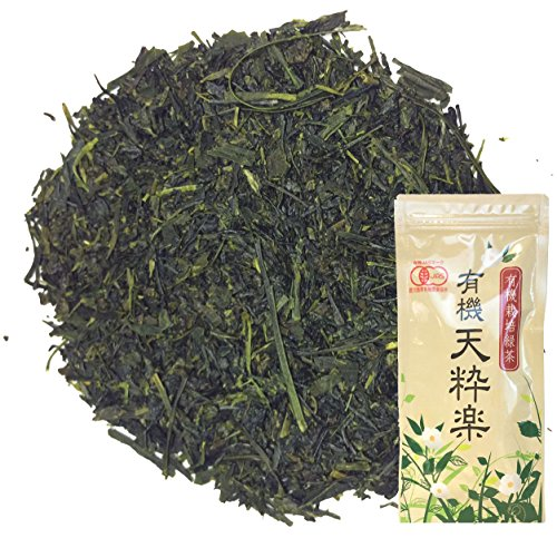 Organic Japanese Sencha loose green tea TensuiRaku - First Flush Premium 80g (2.82oz) x 1 pack
