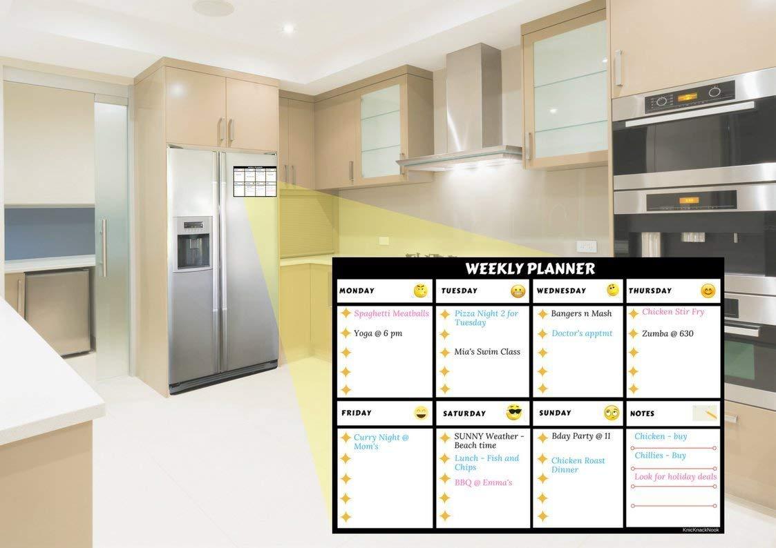 Kühlschrank Planer : Amazon magnetisches whiteboard kühlschrank wochenplaner meal