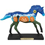 The Trail of Painted Ponies Pumpkin Patch Halloween Figurine Horse 4041002 New