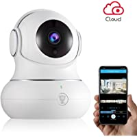 Wireless IP Indoor Security Camera - Littlelf WiFi Camera with 3D Navigation, Motion Detection, 2-Way Audio&Night Version Audio Security Camera for Pets/Nanny/Baby Monitor-Cloud Service Available
