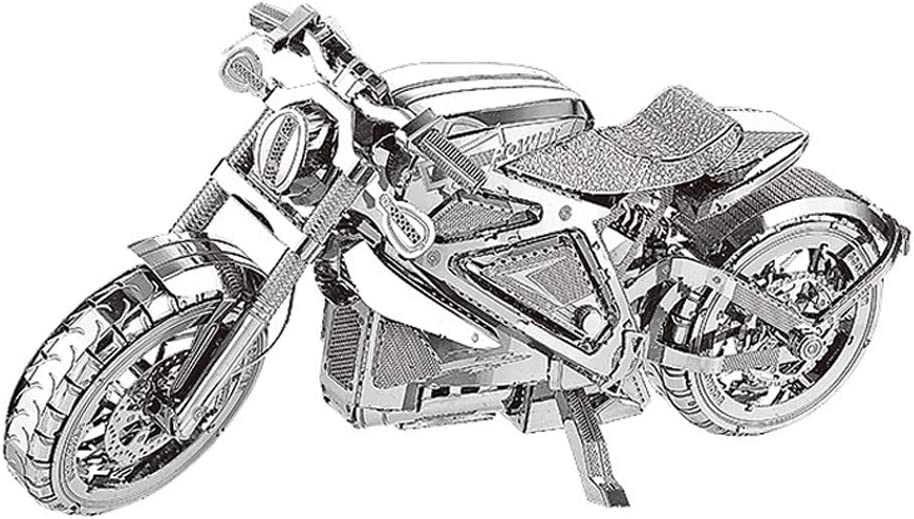 AVENGER MOTORCYCLE NANYUAN I22203 Collection Level Puzzle 3D Metal Assembly New