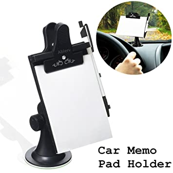 64f0712ec0dc Amazon.com : Multifunctional Car Memo Pad Holder, Ablerv Premium ...