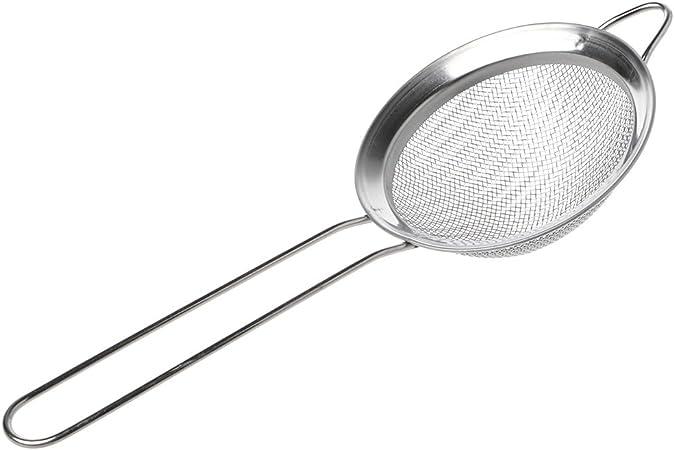Lunji Passoire INOX Ecumoire Tamis de Cuisine pour /égoutter Nouille//Riz//L/égumes//Blanc d/œuf