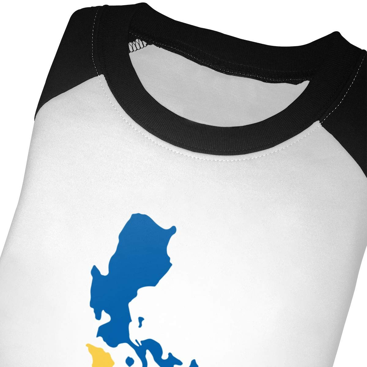 QPKMRTZTX0 Boys Girls Kids /& Toddler Filipino Map Philippines Flag2 Long Sleeve Tees 100/% Cotton
