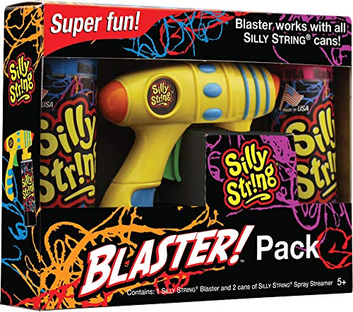 Silly String Blaster Pack Funny Theme Halloween Accessory Party Supplies -