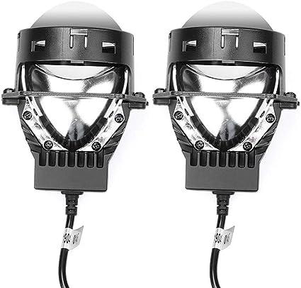 Proyector 2X Lente Bi Led for Hella 5 3R Auto accesorios Led faro ...