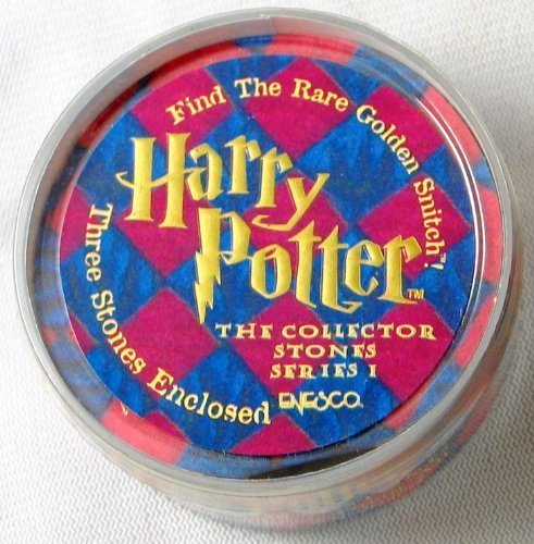Harry Potter Collector Stones Series I Box of 3 Stones!