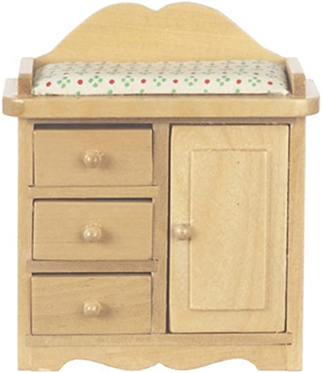 Melody Jane Dolls House Lundby Nursery Baby Furniture Cot Changing Table Set