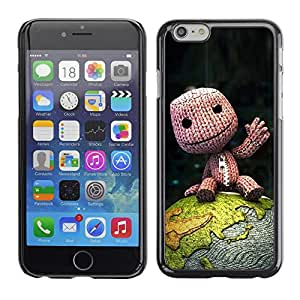 LECELL -- Funda protectora / Cubierta / Piel For Apple iPhone 6 -- Cute Happy Fellow --