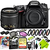 Nikon D7200 DSLR Digital Camera with Nikon 18-55mm f/3.5-5.6G Lens and Nikon 70-300mm Lens 2 Lenses Bundle
