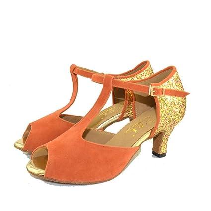 Saténsandalia Zapatos Salón Xue Latinos De Mujerzapatos Para F3ulKcJT1