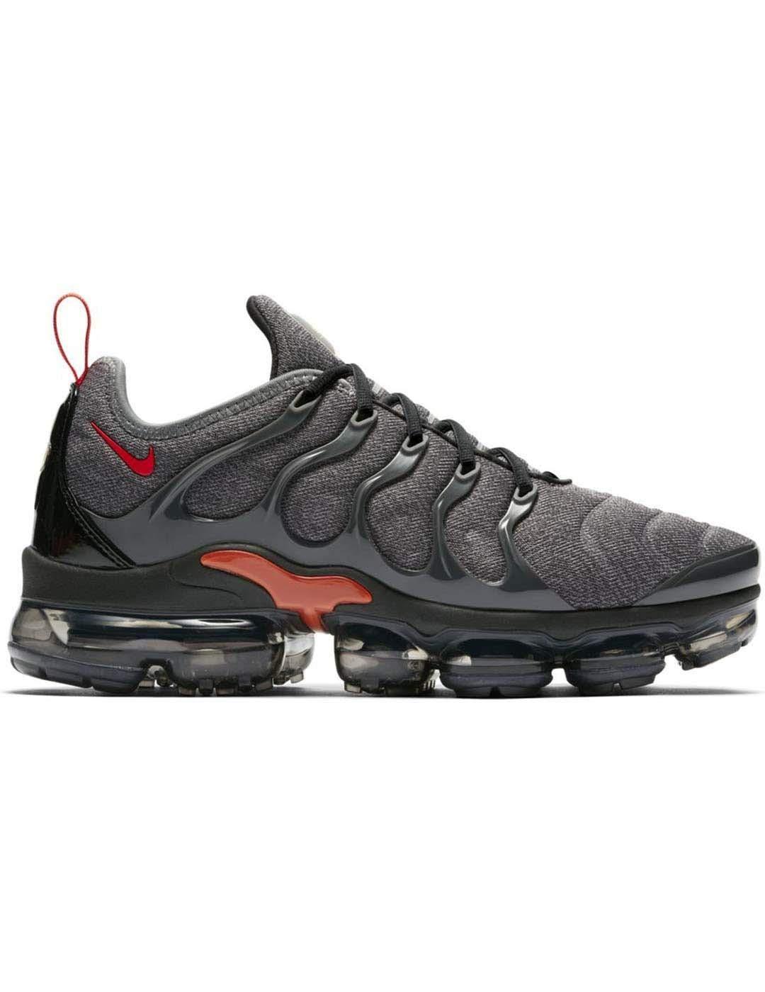 amazon high fashion wholesale Nike - AIR Vapormax Plus [924453-012] Cool Grey/Team Orange/University Gold  9