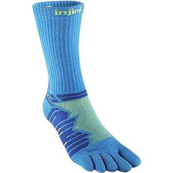 Injinji Socks Rendimiento Ultra Run Crew Calcetines para Correr Lima: Amazon.es: Deportes y aire libre