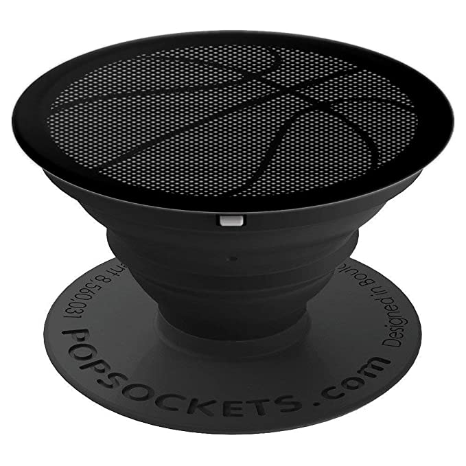 Basketball Gray Pixel For Boys and Girls - PopSockets Grip and Stand for Phones and Tablets
