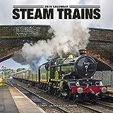 Steam Train Calendar - Calendars 2018 - 2019 Wall Calendars - Steam Trains 16 Month Wall Calendar by Avonside
