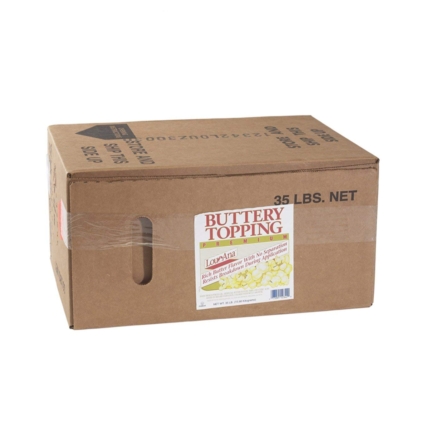 Popcorn Supply   Bag-In-Box Buttery Topping   by Gold Medal 2653   35 lbs