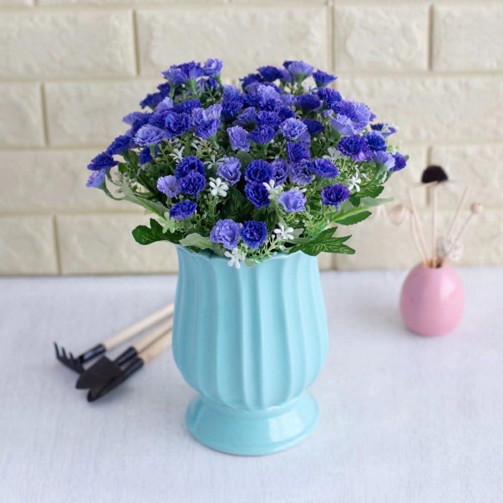 Bouquet Per La Sposa.Amazon Com Akomatial Artificiali Fiori Finti 1 Bouquet 25 Teste