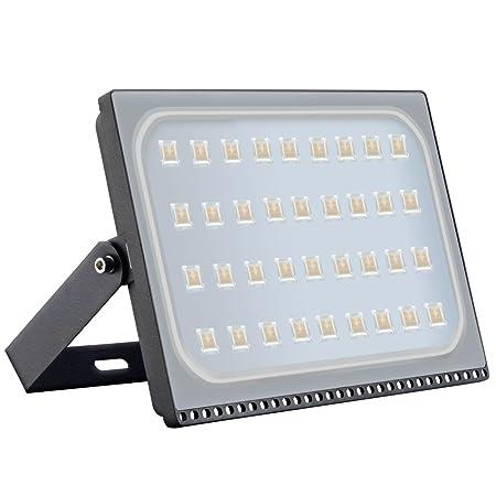 Foco proyector LED 10W 20W 30W 50W 100W 150W 200W 300W 500W para exteriores, luz de seguridad,resistente al agua IP65, Diseño ultraligero ultrafino