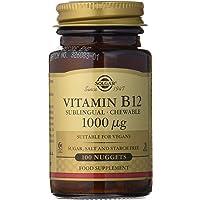 Solgar Vitamina B12, Comprimidos Masticables, Reduce el Cansancio, Ayuda a…
