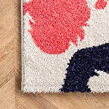 nuLOOM Pinkie Handprint Nursery Kids Area Rug, 5' x