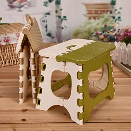 Kurtzy Foldable Step Stool For Kids And Adults Kitchen Garden ...