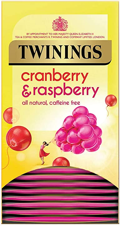 Twinings Infusion Tea Bags Individually-wrapped Cranberry and ...