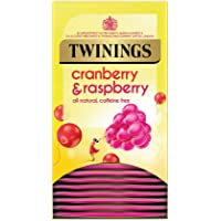 Twinings Infusion Tea Bags Individually-wrapped Cranberry and Raspberry