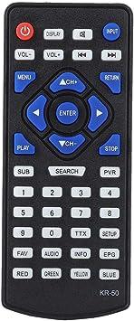 Bewinner Reemplazo de TV Digital DVB-T2 Control Remoto Controlador de televisión para LEADSTAR KR-50 Control Remoto Universal de TV para Todos los televisores Digitales de para LEADSTAR DVB-T2: Amazon.es: Electrónica