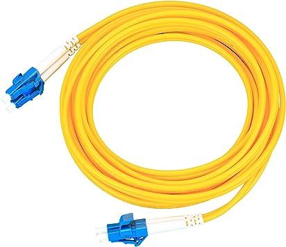 Unbekannt Glasfaserkabel ST A ST SINGLEMODE Duplex UPC 1 m